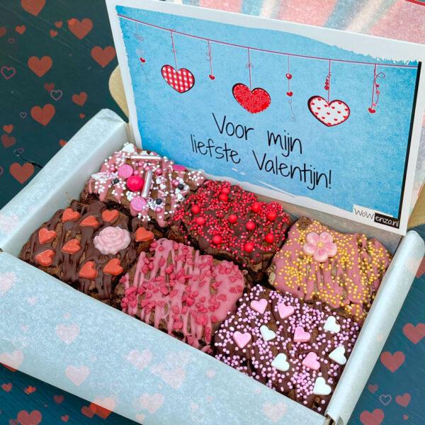 Ambachtelijke Brownies Valentijn
